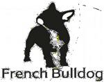 logo french bulldog