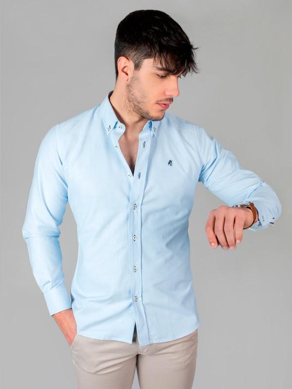 Camisa lisa Oxford